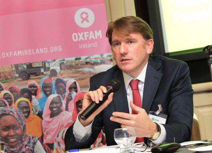 Oxfam Ireland CEO Jim Clarken http://www.oxfamireland.org/provingit/about-oxfam