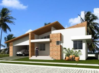 Modelo/Fachada/Garagem/Mesanino Detalhe