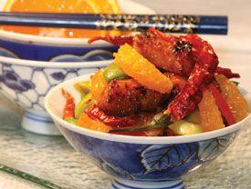 Sizzling Szechuan Tangerine Chicken | PCC Natural Markets