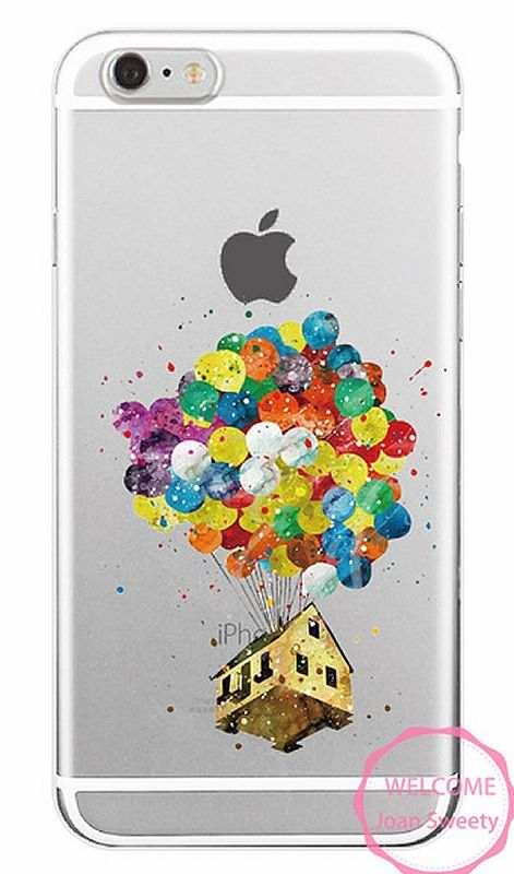 7 95 Case Iphone Watercolor Disney Up M01 Coque Iphone