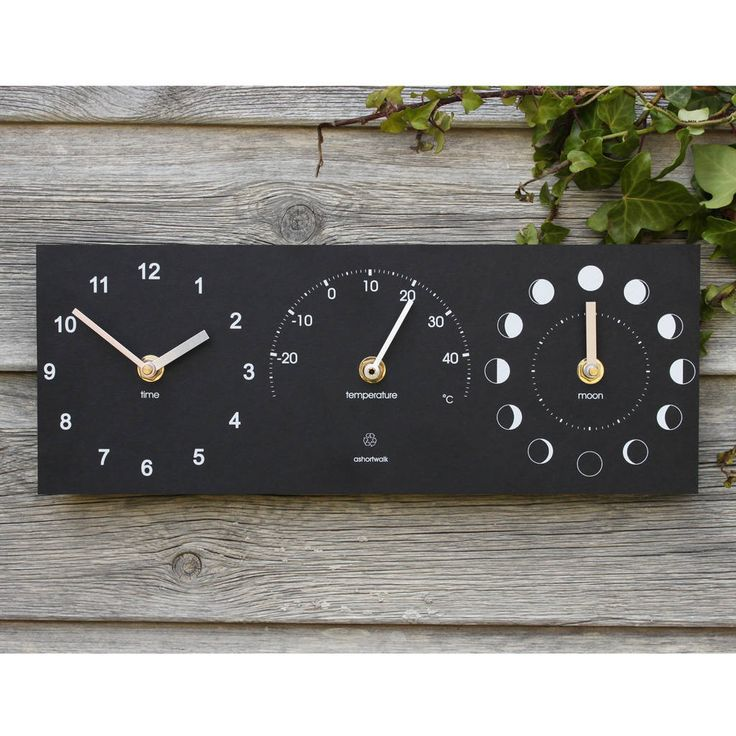 Are you interested in our outdoor clock and thermometer? With our eco gift you need look no further.