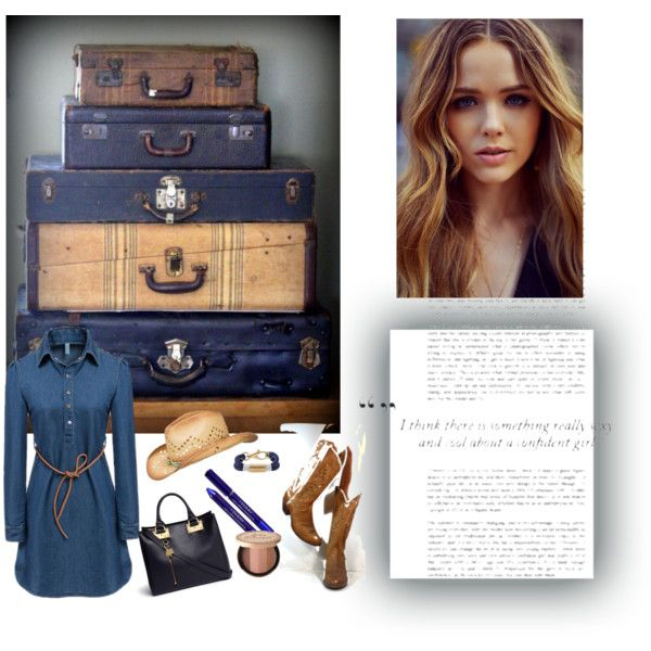 TAKE A TRIP BACK 2 THE COUNTRY by diaparsons on Polyvore featuring Sophie Hulme, Apt. 9, maurices, By Terry and country