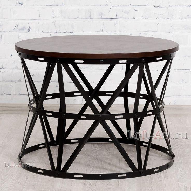 Hammer журнальный стол - Журнальные столы - Гостиная и кабинет - Мебель по комнатам В стиле Лофт купить