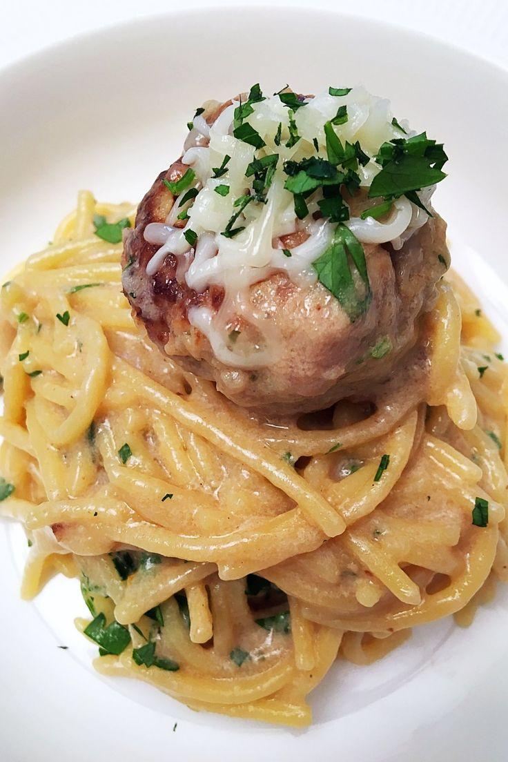 """Svéd húsgombócos spagetti""""One pot"""" – VIDEÓVAL! – Gastrohobbi"""