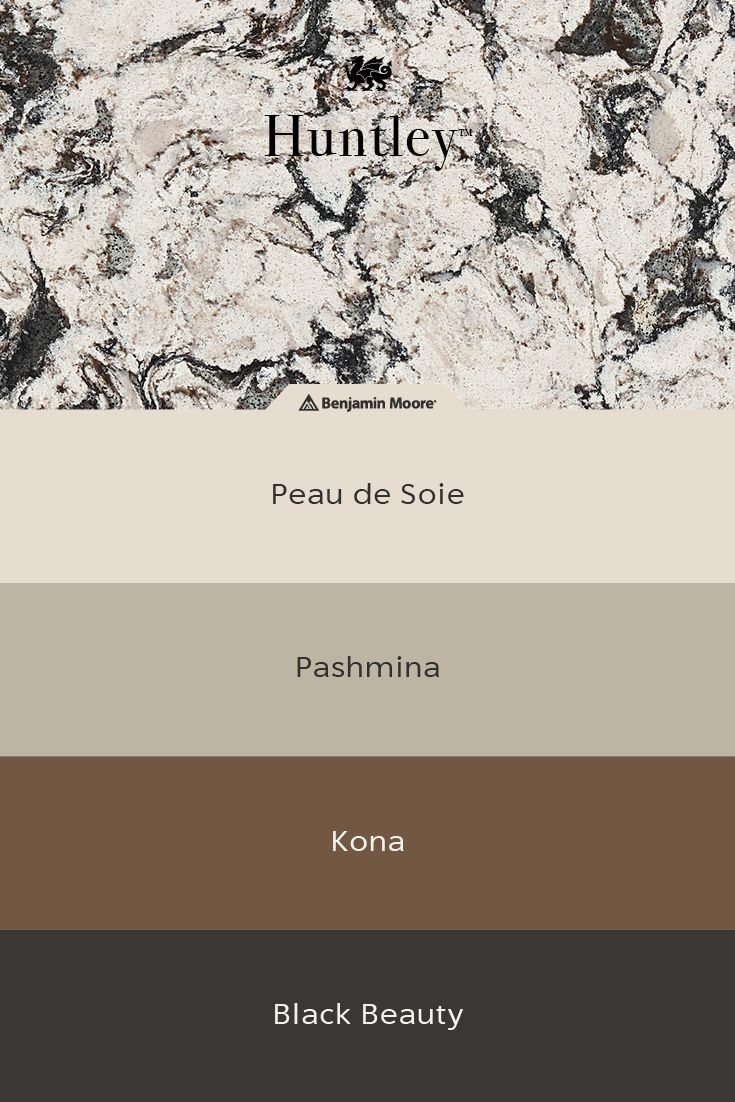 Pashmina Top And Dark Color Bottom Huntley Is A Creamy White Quartz Countertop With Dynamic Movemen In 2020 Beige Kitchen White Quartz Countertop Kitchen Countertops