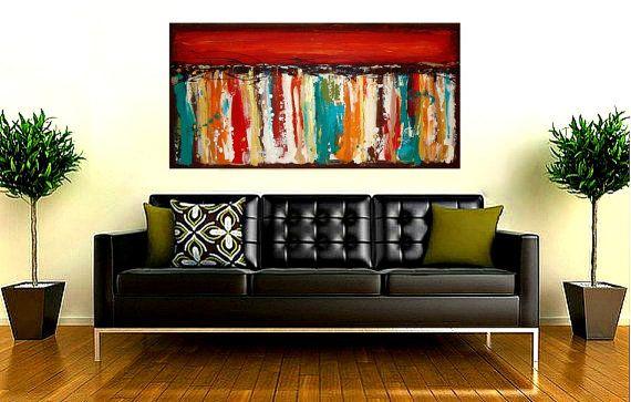 Acrylic Paintings Art Abstract Modern Canvas от OraBirenbaumArt