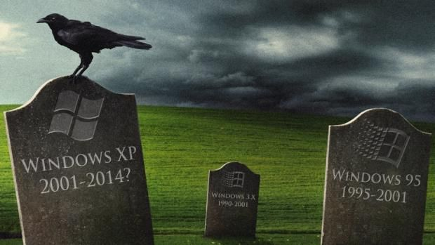 Windows XP updates until 2019 with registry Hack