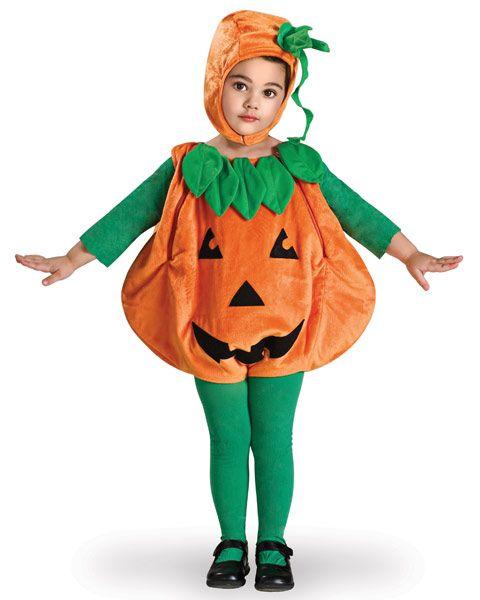 Girl's Toddler Pumpkin Costume | Infant/Toddler Costumes Classic Girl Halloween Costumes 19.99  www.facebook.com/PumpkinPatchTV