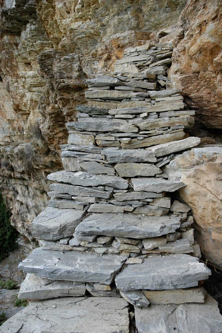 Stone Path in Milies - Pelion - Greece