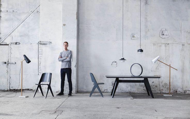 Designer Timo Niskanen & Himmee lamps
