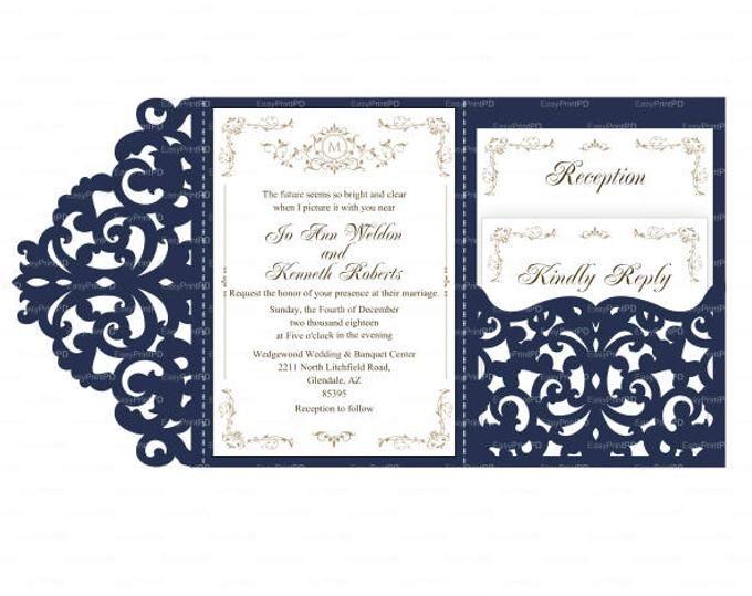 Epingle Sur Carte Invitation