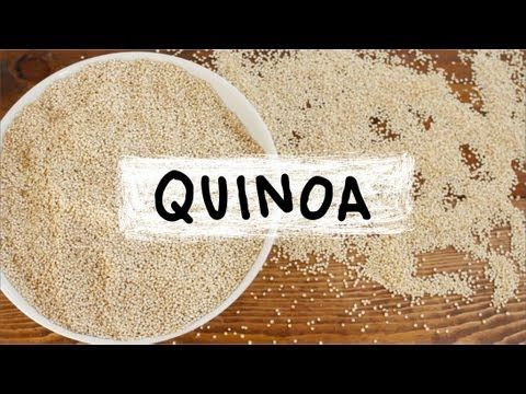 This is the best video we've seen explaining QUINOA, a powerful little seed that has all of the essential amino acids, making it a healthy source of complete protein! You'll be a quinoa expert after watching this.