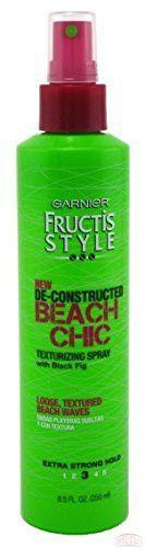 Garnier Fructis De-constructed Beach Chic Texturizing Spray 8.5fl Oz Non-aerosol (Pack of 3)