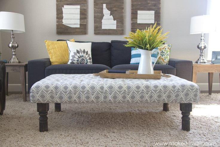 16 DIY Ottoman Projects that will Blow Your Mind8
