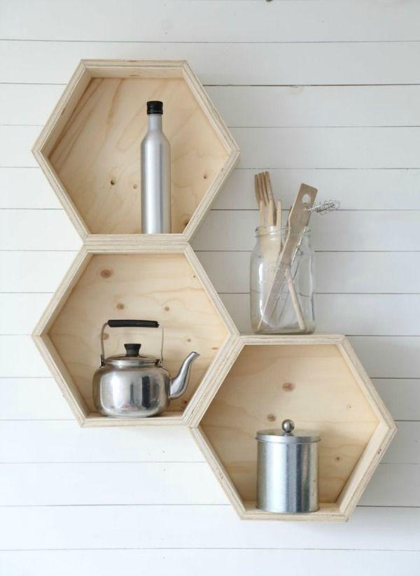 Liefde voor de hexagon, ofwel zeshoek in het interieur, een grafische vorm, die mijns inziens veel leuker is dan de driehoeken trend.