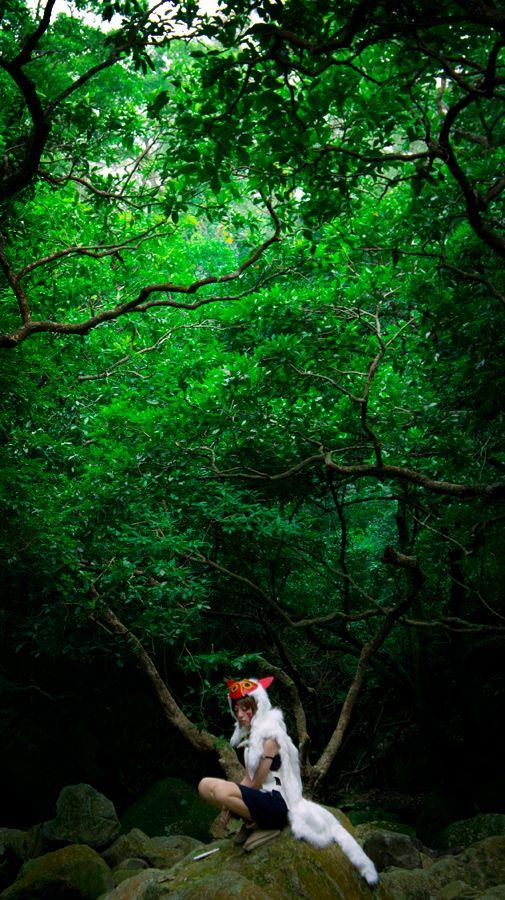 yui930isSan / Princess Mononoke | Photo by JIE
