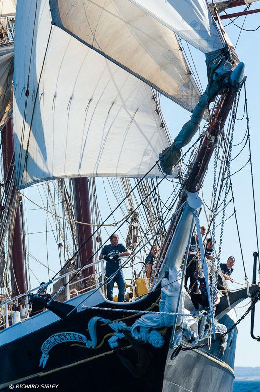 "Dutch clipper brig ""Morgenster"""