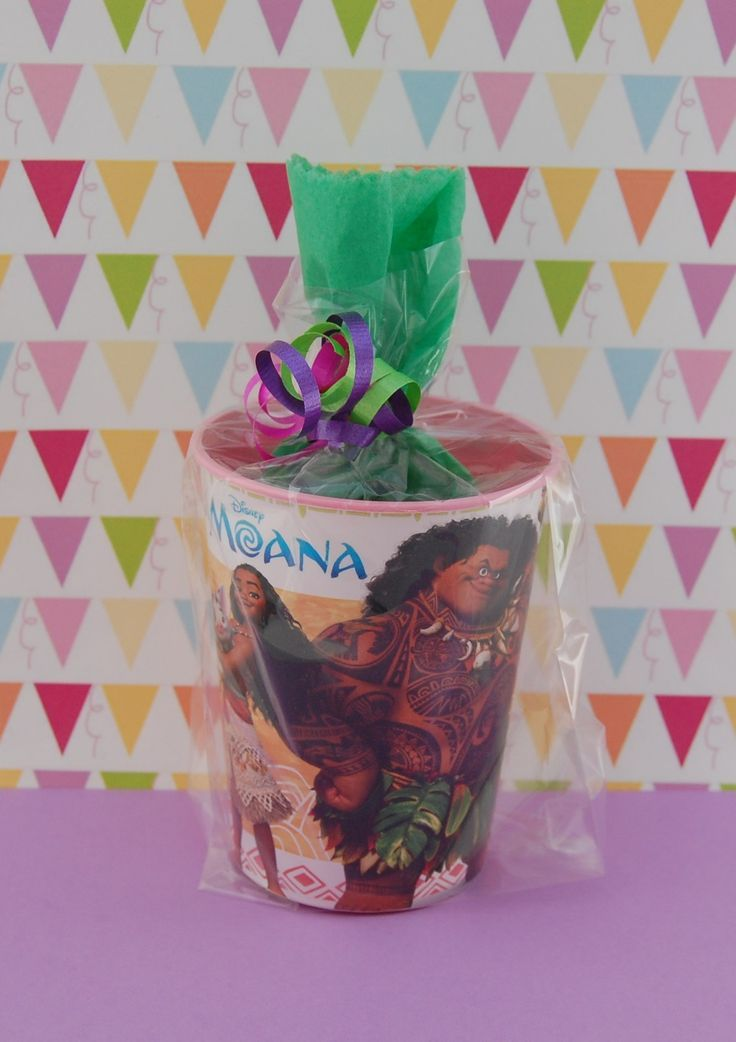 245 best images about moana polynesian party on pinterest for Bag decoration ideas