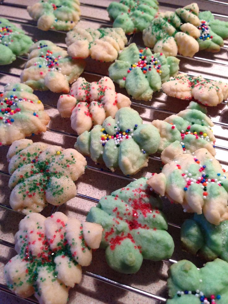 Yum Christmas cookies