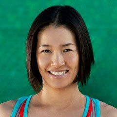 Japanese Tennis star Kimiko Date-Krumm. Back in the 1990's, Kimiko faced Steffi Graf, Sabatini, and Arantxa Sánchez Vicario in several memorable matches. Not just a great player, Kimiko is one of the most beautiful women to ever play on the WTA tour.