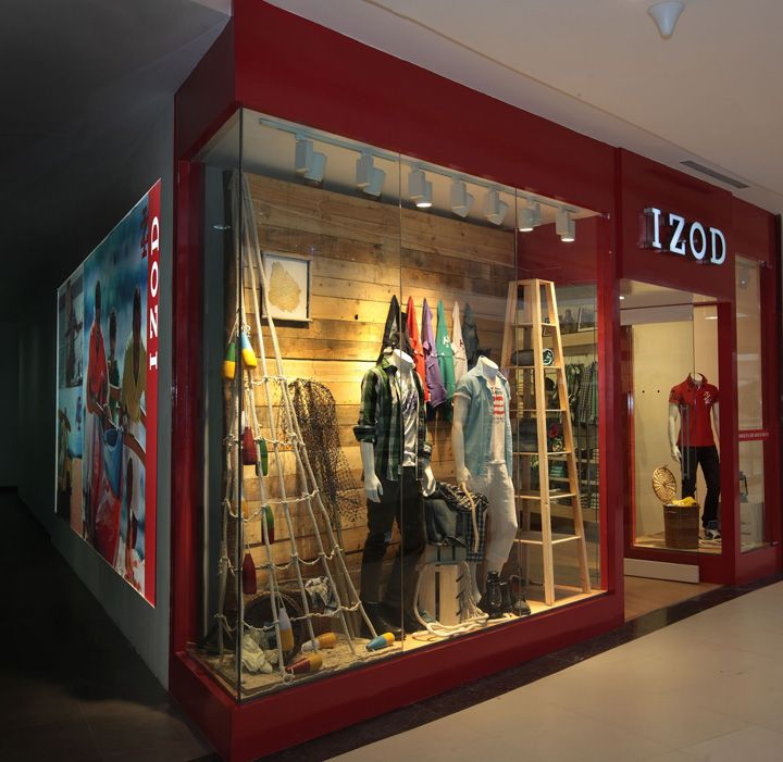 Izod clothing store