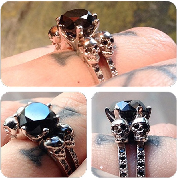kat von d wedding ring | Wedding