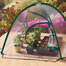Folding Greenhouse   Get an early start on growing season.