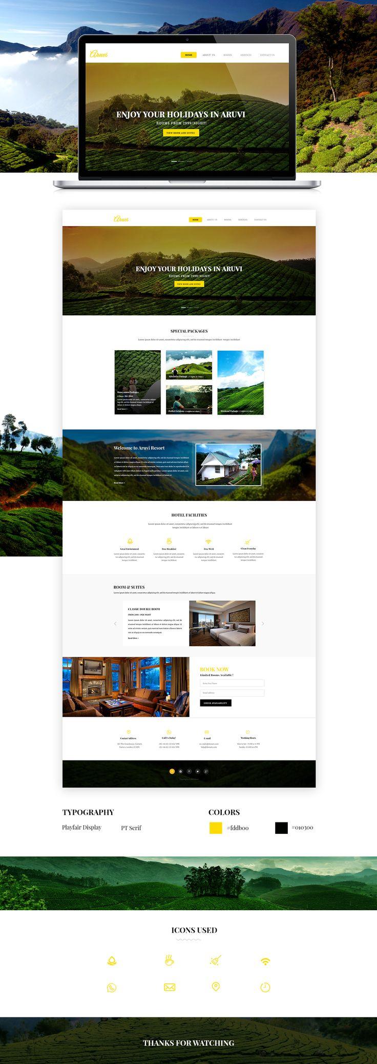 Web Design, UI Design on Behance