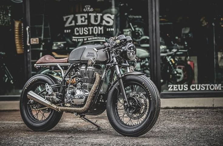 Royal Enfield Cafe Racer – The Zeno Racer Project by Zeus Custom  #motorcycles #caferacer #motos | caferacerpasion.comФокин Алексей