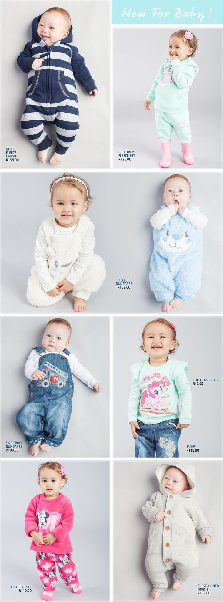 Clothing Baby - Pick n Pay A wide selection and collection of quality baby clothes and newborn clothing. From fleece wear to snowsuit. See how these winter warmers meet little prices