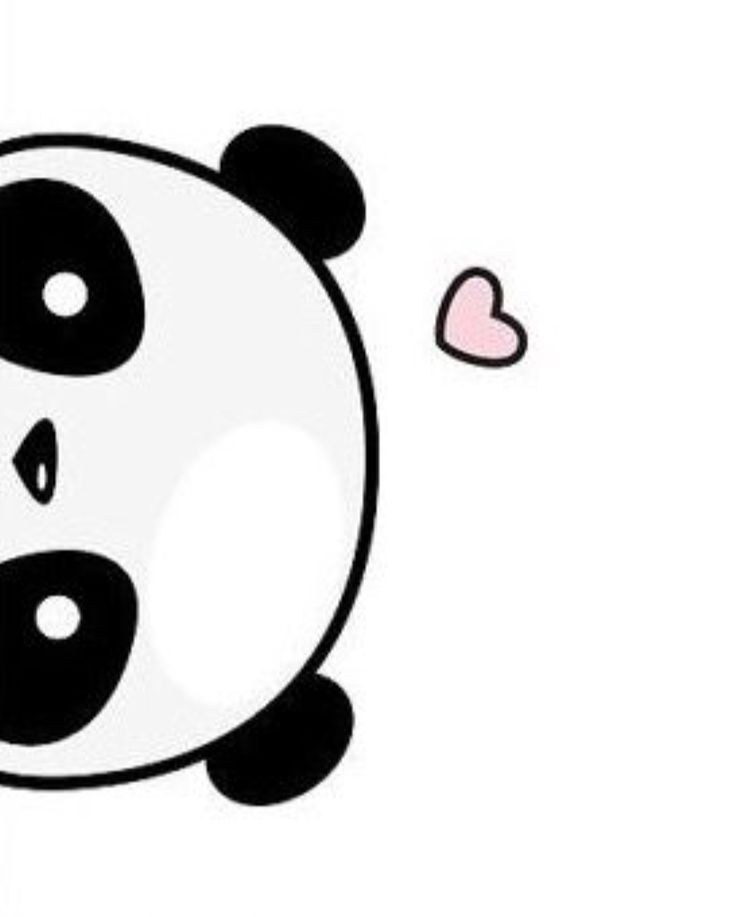 Картинки для срисовки панда легкие и красивые