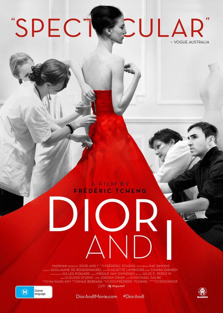 Official Australian poster for Dior and I www.DiorAndIMovie.com