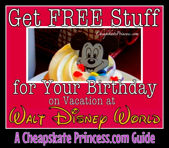 How To Get Free Stuff At Disney World
