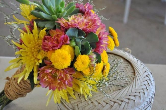 60 buquês de noiva RÚSTICOS maravilhosos para você se inspirar! Image: 28