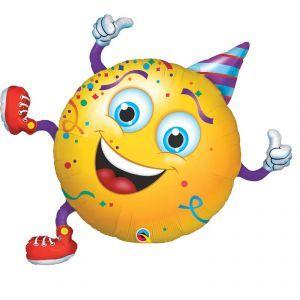 Ballon Aluminium Smiley 92 Cm 36 Quot Qualatex 169 Smiles