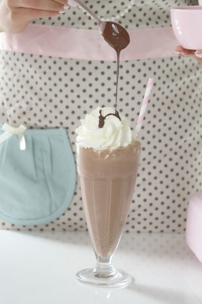 Brownie smoothie