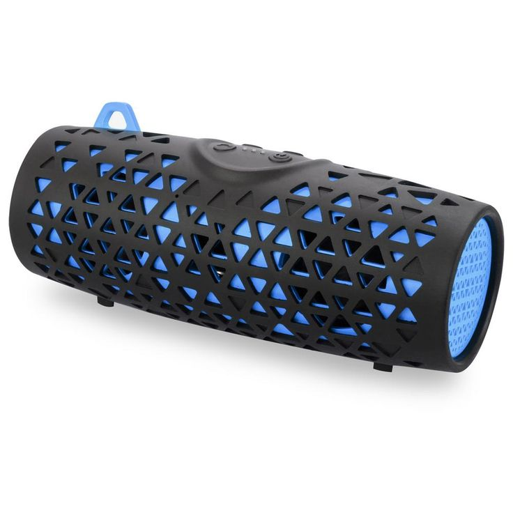 Water and Sand proof Bluetooth Speaker IP66, Blue, Blue/Black