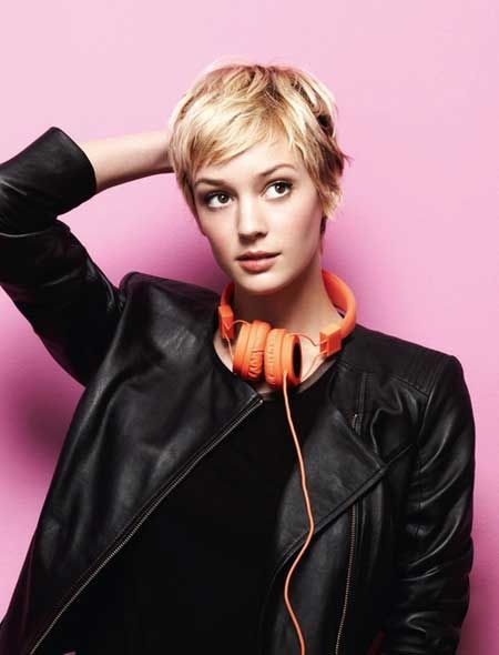 New Short Blonde Hairstyles   2013 Short Haircut for Women