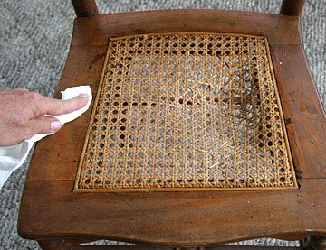 Cane Webbing For Replacing A Chair Seat