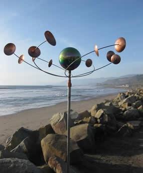 celestial orbit wind sculpture  -- really beautiful site