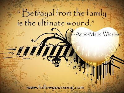 family betrayal of lies by family members