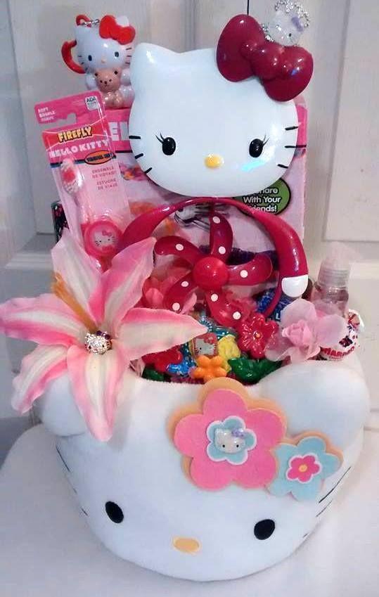 43 best easter buckets images on pinterest easter buckets 55 ebay handmade hello kitty sweet treat garden fun gift basket hellokitty birthdaychild negle Choice Image