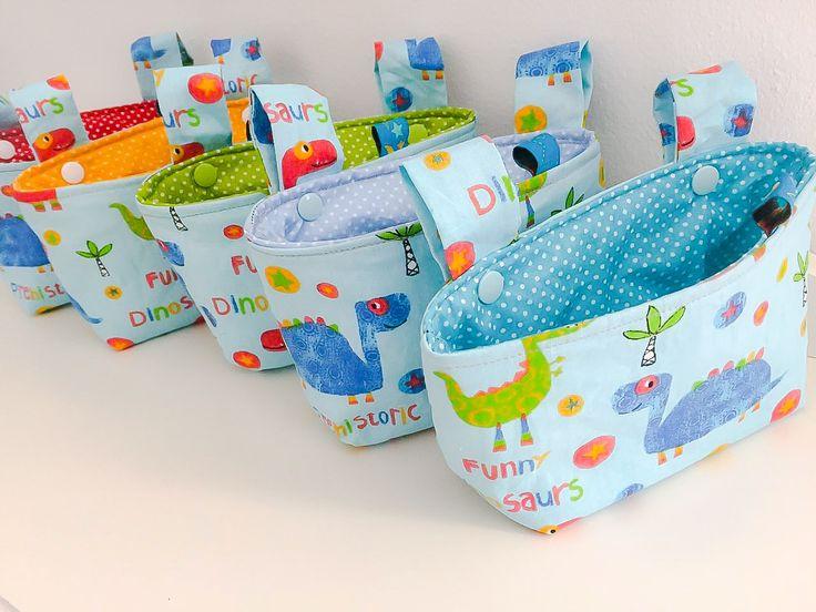 Lenkertaschen, mamasdaily Blog-Shop, für Roller, Dreirad, Fahrrad, Kinderwagen, Puky...