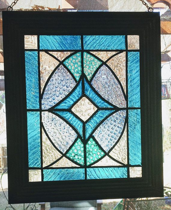 Framed 8x10 Faux Stained Glass Window Panel Window Art Sun Stain Glass Window Art Diy Stained Glass Window Faux Stained Glass