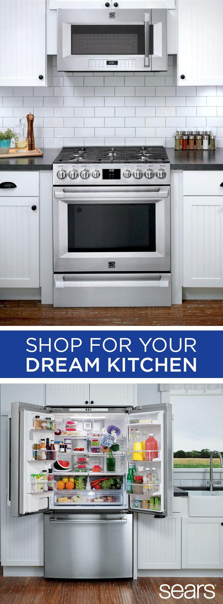 921 best images about kitchen ideas on pinterest kitchen for Dream kitchen appliances