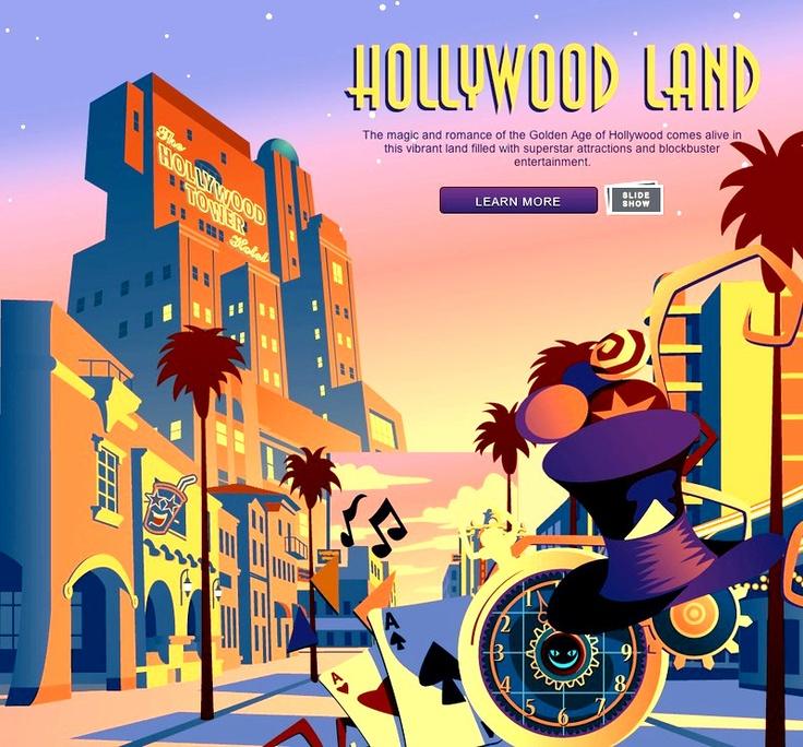 Disney California Adventure: Hollywood Land.