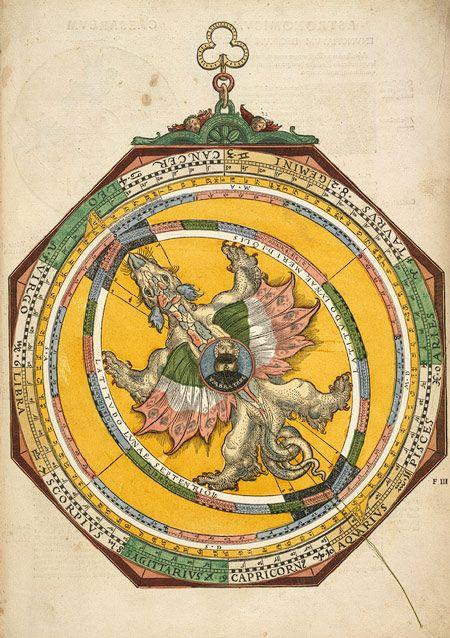 Astronomicum Caesareum, 1540 Michael Ostendorfer (German, active 1520–49); Written by Petrus Apianus (German, 1495–1552) Hand-colored woodcuts