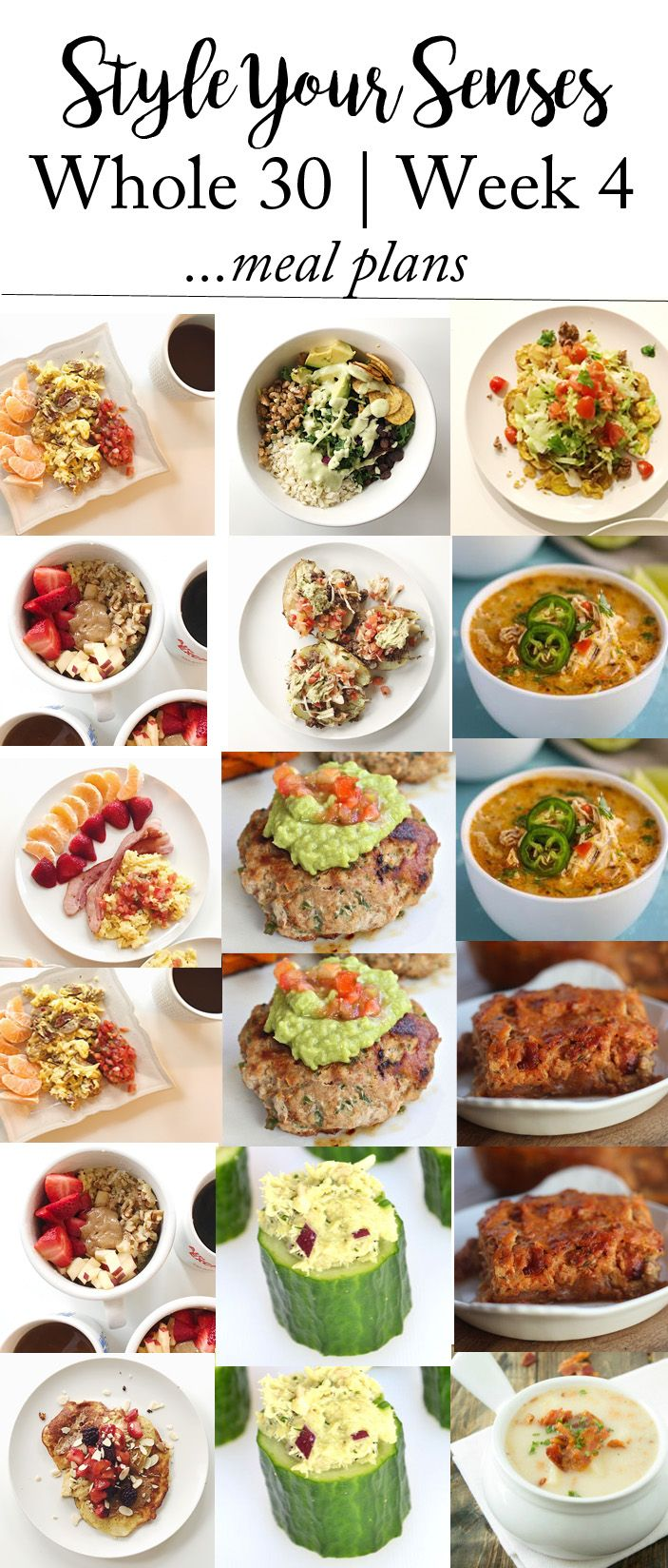 Sharing a full Whole30 Week 3 update + Meal Plans for 4! See how I'm feeling, what meals I'm loving and what I have planned for the coming week!