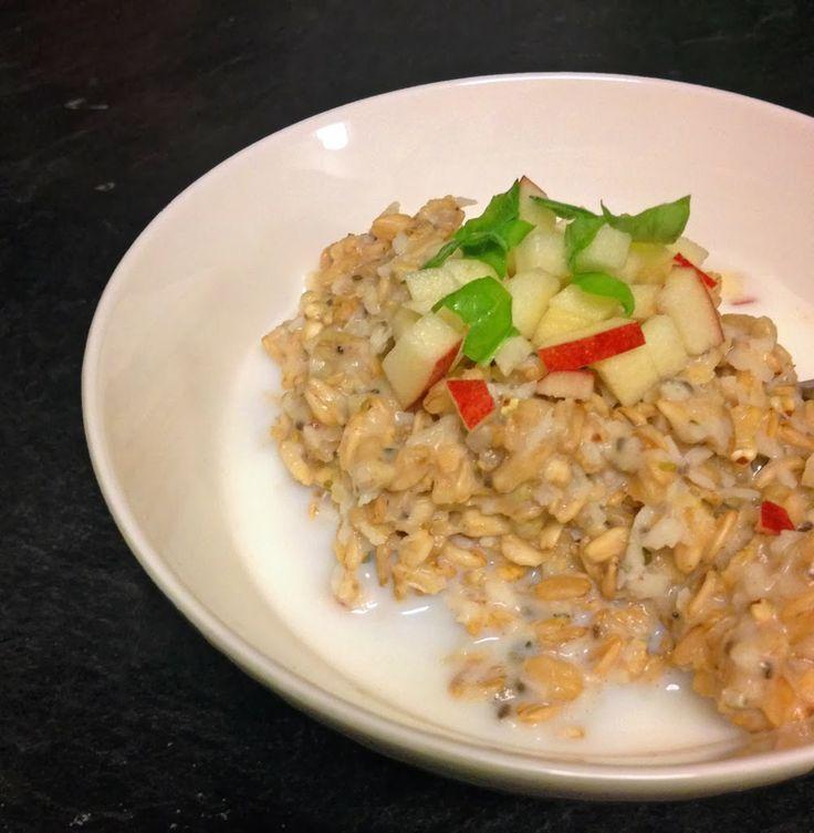 Fridge porridge! Easy to make recipe on Wild About Porridge
