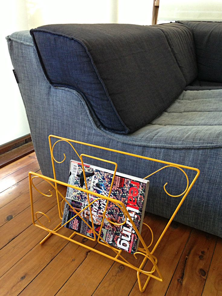 How good does this Magazine Rack look here?!